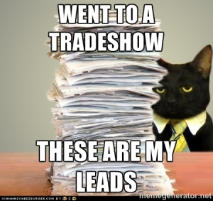 cat with leads meme